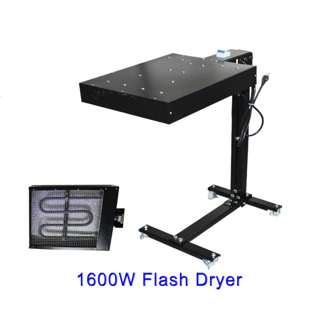 1600W Screen Printing Flash Dryer Curing Unit Machine Inks T-shirt Print