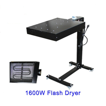 1600W Screen Printing Flash Dryer Curing Unit Machine Inks T-shirt Print