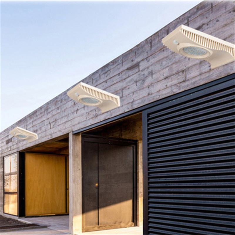 Emergency LED Solar Panel Wall Street Light Outdoor Garden Home Waterproof Lamp Energy Saving Landscape Motion Sensor Garland