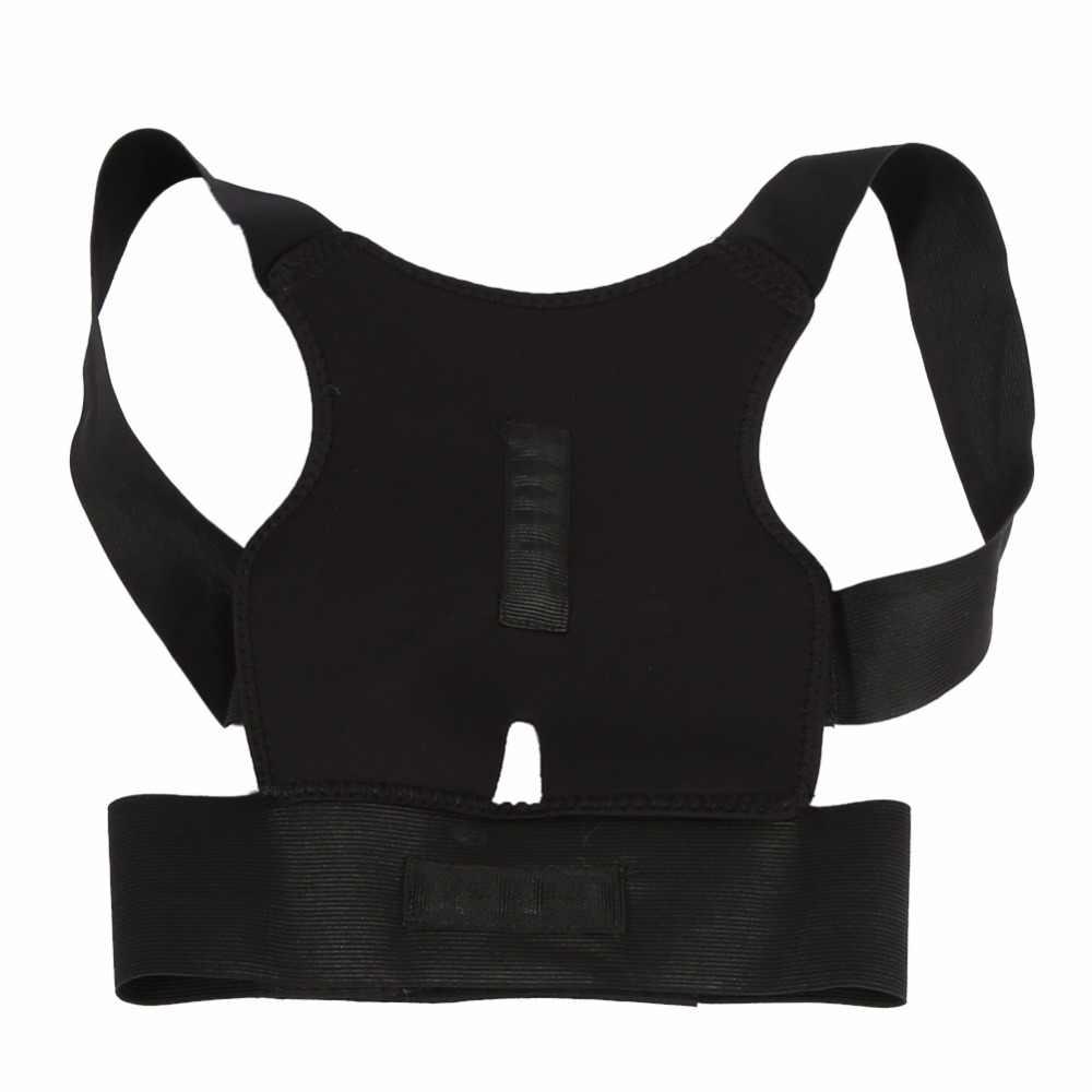 Corrector de postura ajustable cinturón de soporte para la espalda cintura Lumbar hombro corsé columna soporte para la corrección de la postura soporte para la espalda