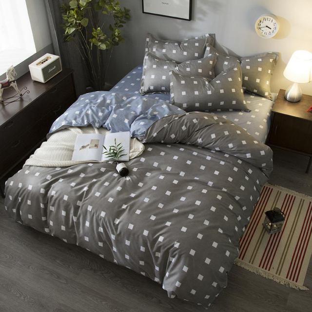 Little Orme Duvet letto appartamento Lenzuola + Federa Super King Queen pieno Tw