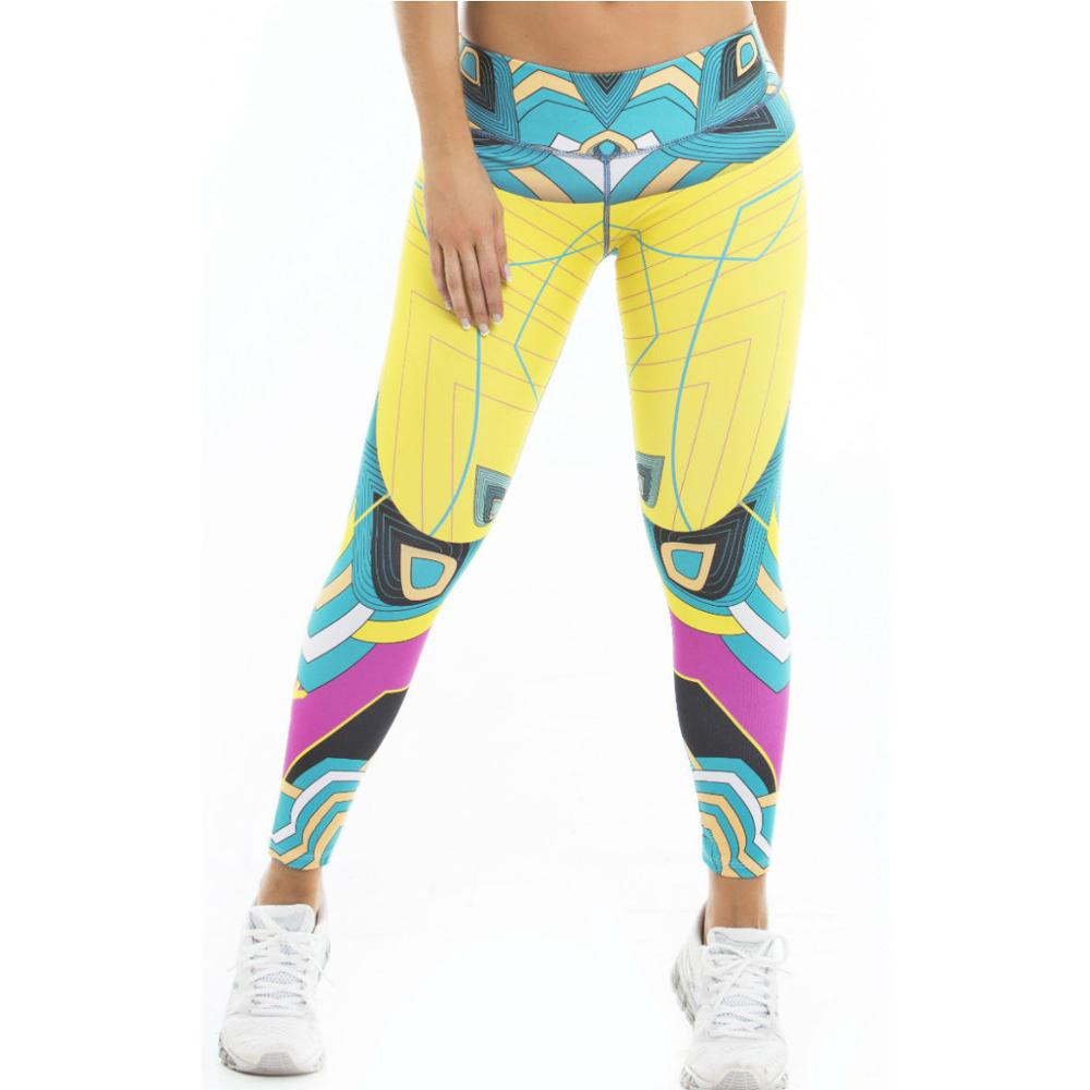 2018 Real Promotion Spandex Yoga Pants Women Yoga Compression Pants Leggings Elastic Tights Sexy For Workout Gym Jogging