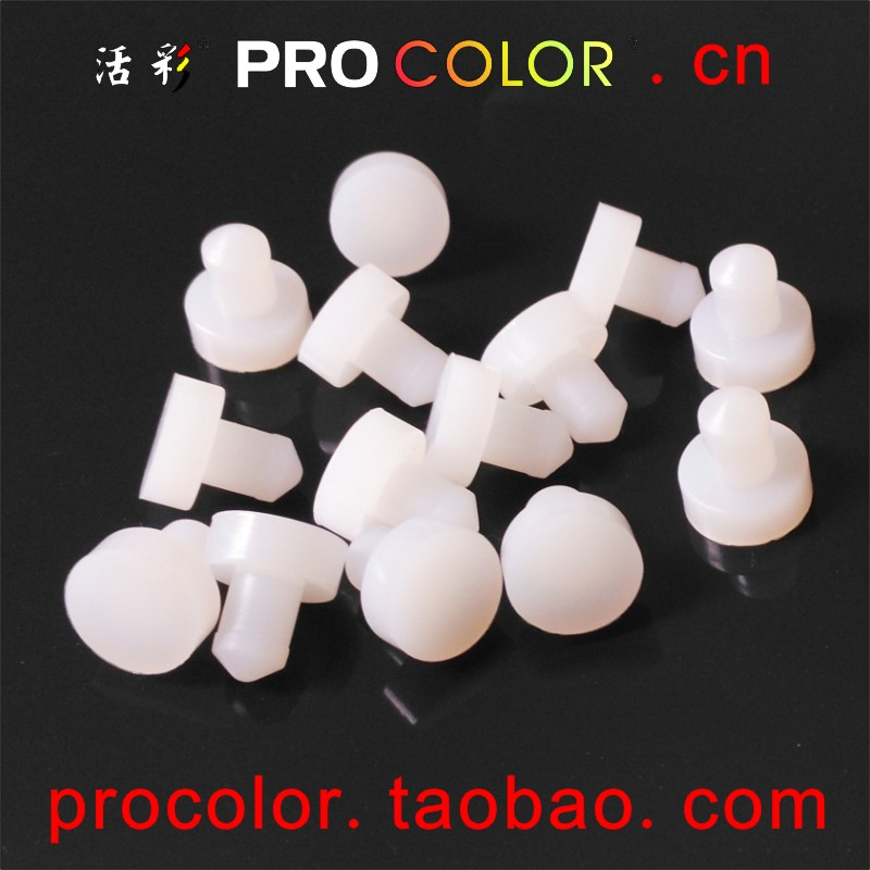 T Furniture Parts Silicone Rubber Seal Plug Plugging Shield Dustproof 7 7.1 7.2 7.3 7.4 7.5 Mm 7mm 7.5mm Hole Feet Hole Pad Mat