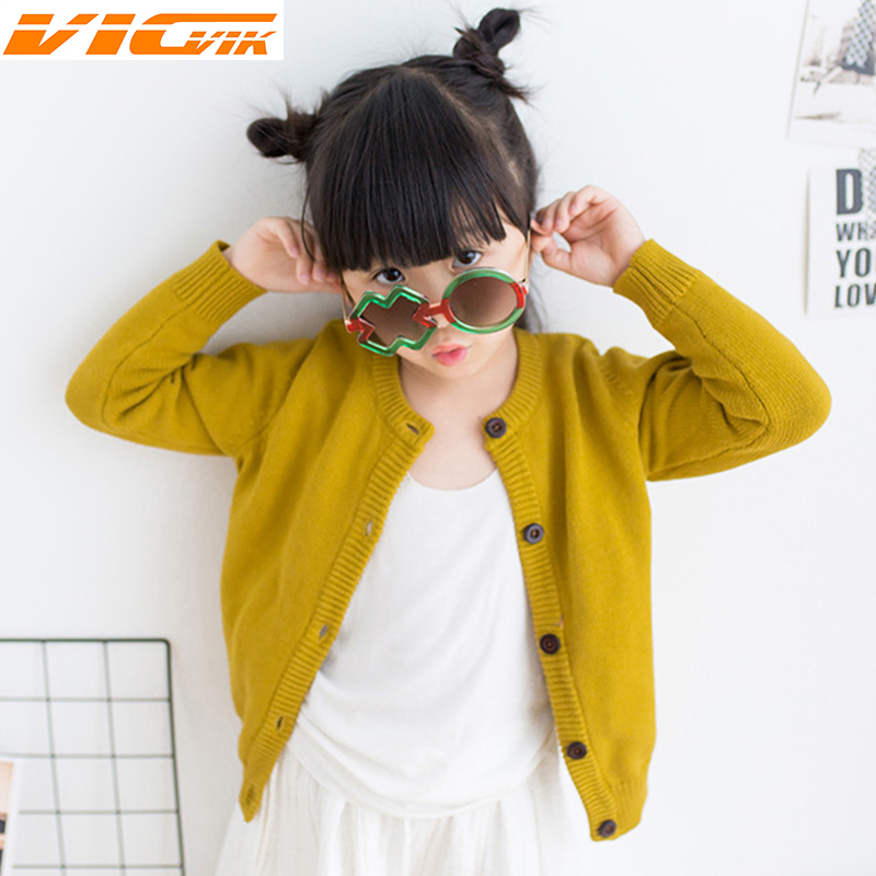 Autumn Cotton Outerwear Sweater Baby Clothes Kids Cardigan Boys Girls Sweater Coat Children's Knit Cardigan Sweaters Kids Jacket