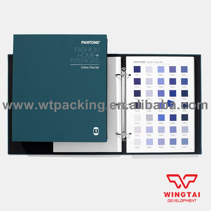 100% USA PANTONE TCX Color Guide Pantone TCX Cotton Chip Set FHIC400 цветовые карты pantone 2015 cu gp1601