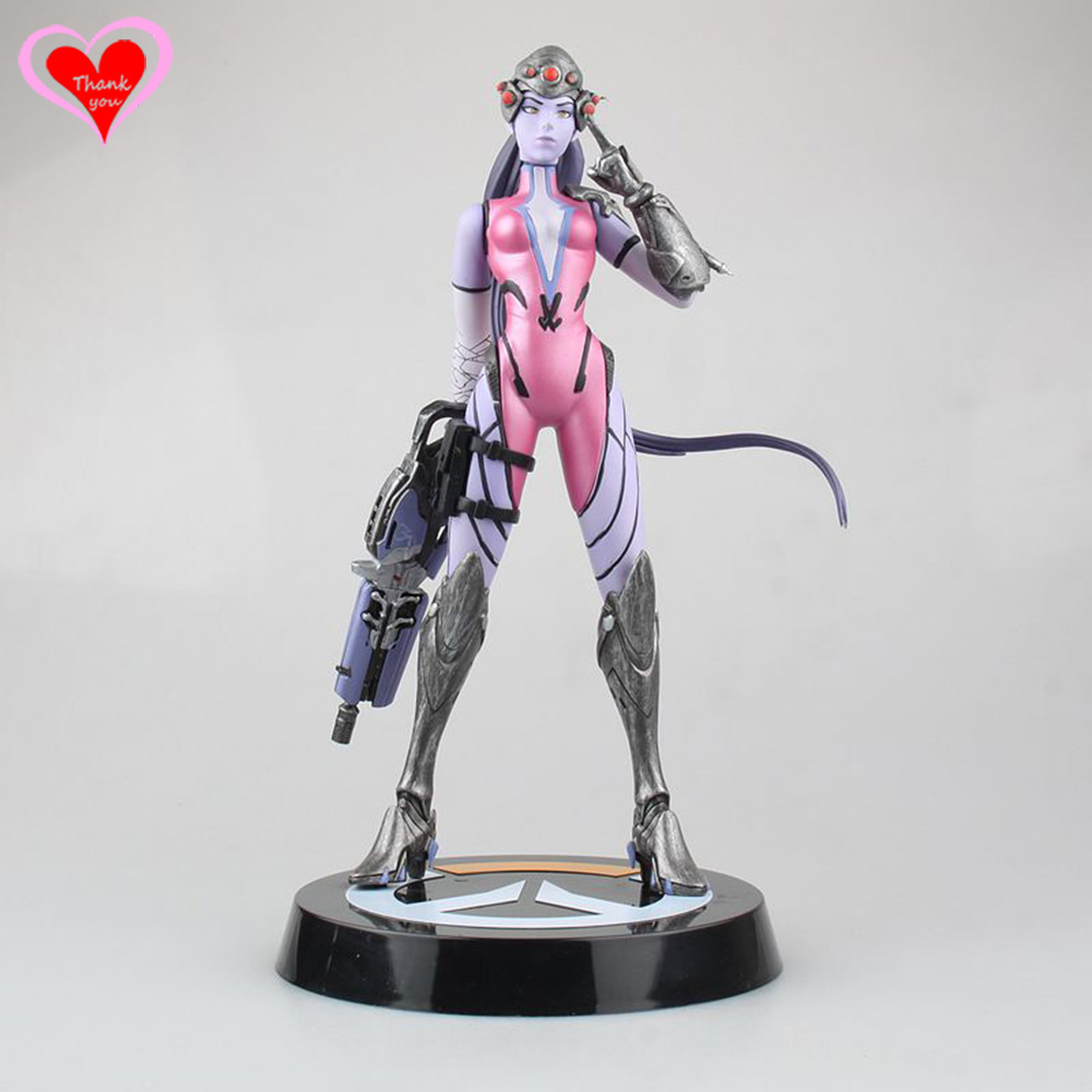 Love Thank You game watch Widowmaker 28CM PVC Anime figure toy Model gift new love thank you atelier kaguya all rights reserved pvc anime figure toy collectibles model gift new