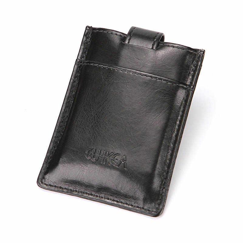 Ocean Bluevin moda creativa cartera para hombre Flip Buckle versión coreana del paquete de tarjeta de crédito con Clip de dólar estadounidense
