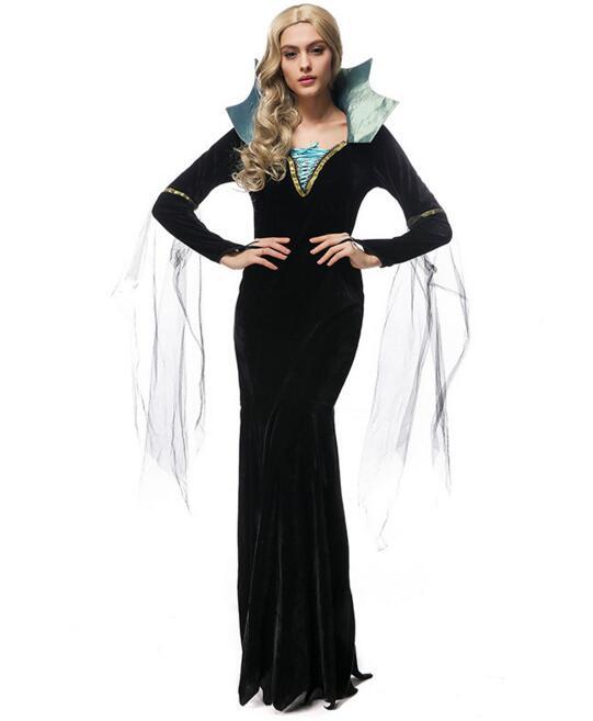 Ensen Vampire font b cosplay b font costumes vestidos fantasia adulto dress queen fantasias feminina festa