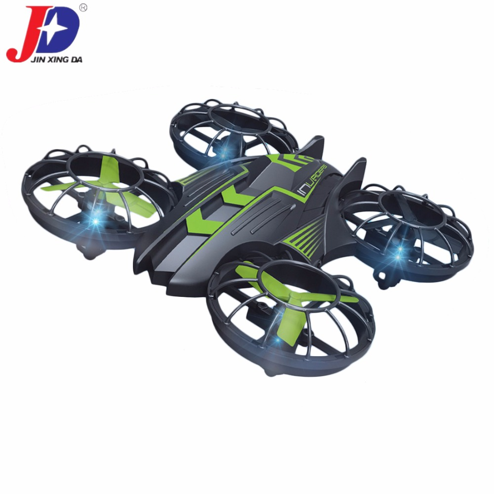 JXD 515W 6 Axis Gyro 2.4GHz WiFi Remote Control WIFI Real-time Mini Drone with HD Camera 3D Roll Mini Drone RC Quadcopter mjx x906t mini rc drone 6 axis gyro quadrocopter rc fpv drone helicopter hd camera wifi mando remote control copter toy