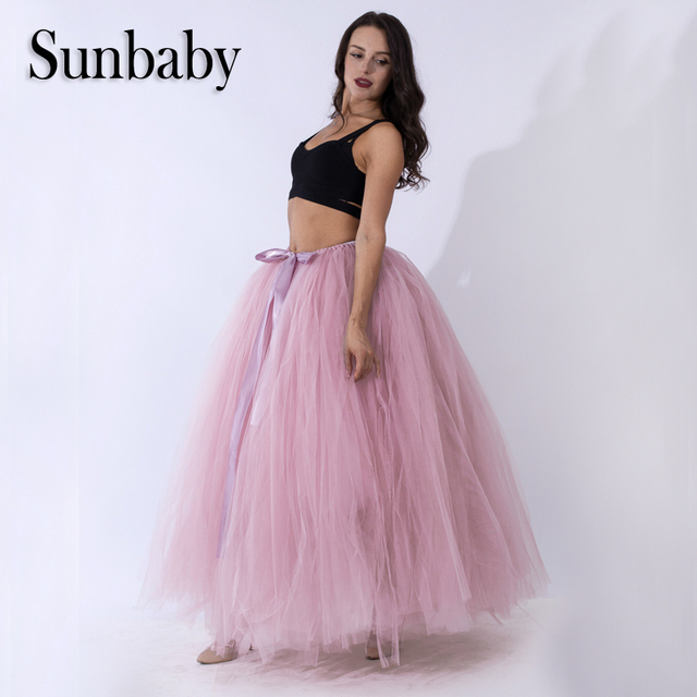 Multi Color Handmade Free Size Adjustable More Layers Yarn tutu adult maternity  skirt photography clothes for e4dce2fd36cf