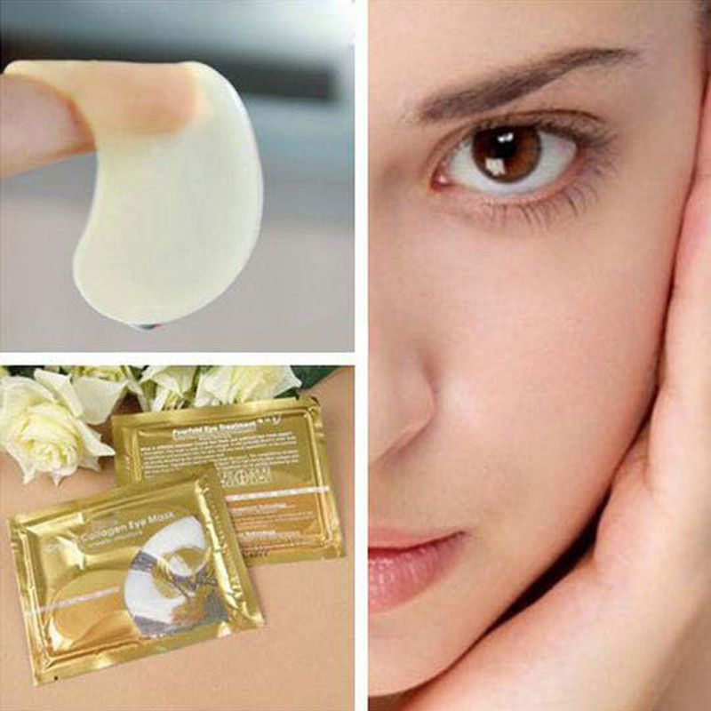 Collagen Crystal Eye Mask Deep Moisture Anti-Ageing Eyelid Patch Care Hot Sale Eye Masks For Face Eye Care 5pair/lot 9