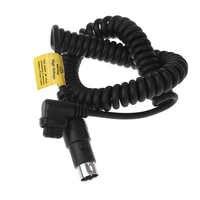 Godox propac pb960 pb820 flash conector da bateria cabo de alimentação cx para canon 600ex 580ex ii 550ex 540ez yn568 yn565 YN600exRT