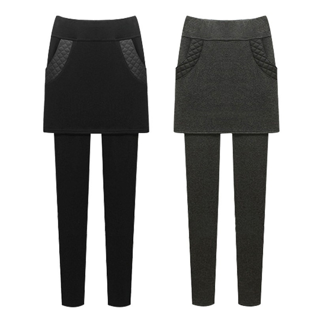 M~6XL Autumn Winter Women Leggings Pants New Skinny Thick With Velvet Fleece Elastic Stretch High Waist Pants