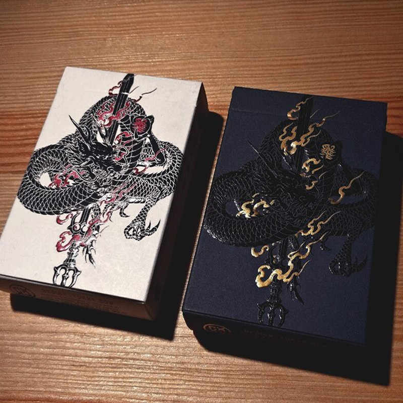 1Pcs Sumi Artist Playing Cards Poker Size Deck EPCC Custom Limited Edition New Sealed Design Experiment Magic Props Magia Tricks