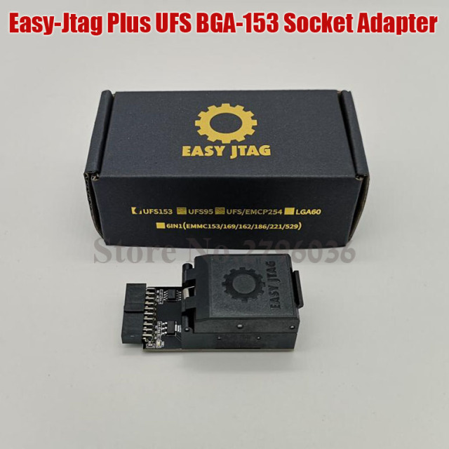 2020 original Z3X  Easy Jtag Plus box UFS BGA 153 Sockets Adapter