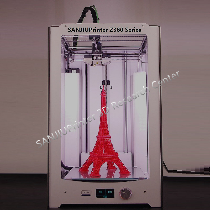 SANJIUPrinter3 Z360 3D Printer Newest 2016 DIY KIT For Ultimaker 2 UM2 Extended Auto Leveling 3D Printer Include All Parts