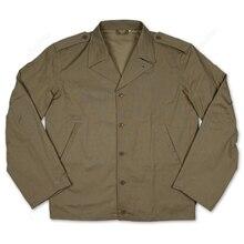 2 мировая война Хлопок репродукция оригинальной подкладкой армии США M41 Полевая куртка F/W тонкая версия D-DAY