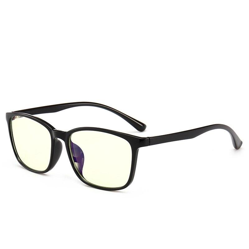 d20e277ada7 MINCL TR90 Blue Light Eyeglasses Oversized Optical Myopia square Eyewear  Black Computer Glasses Frame for Women Men FML-in Eyewear Frames from  Apparel ...