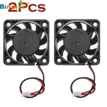 ECOSIN 2 pcs 12 V Mini De Refroidissement Ordinateur Fan-Petit 40mm x 10mm DC Brushless 2-pin JAN31