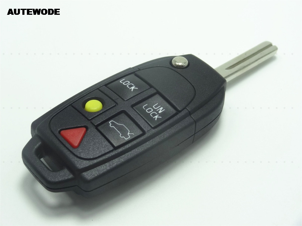 replacement volvo cases button cover remote fob case key