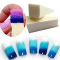 Tracy Simple Nail 2 UNIDS Diseños Creativos DIY Esponja Suave para Gradiente Magia Estampador de Uñas Tips Nail Art Esponja NA144x2