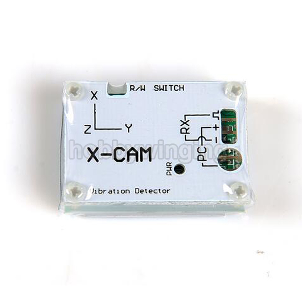 ФОТО X-CAM Vibration Detector for FPV Aerial Photography
