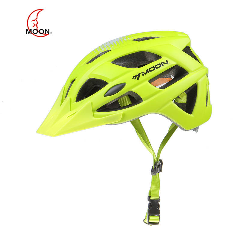 MOON Outdoor Safety Equipment with Printed Forming Belt for Mountainous Bicycle Riding Helmet  a39