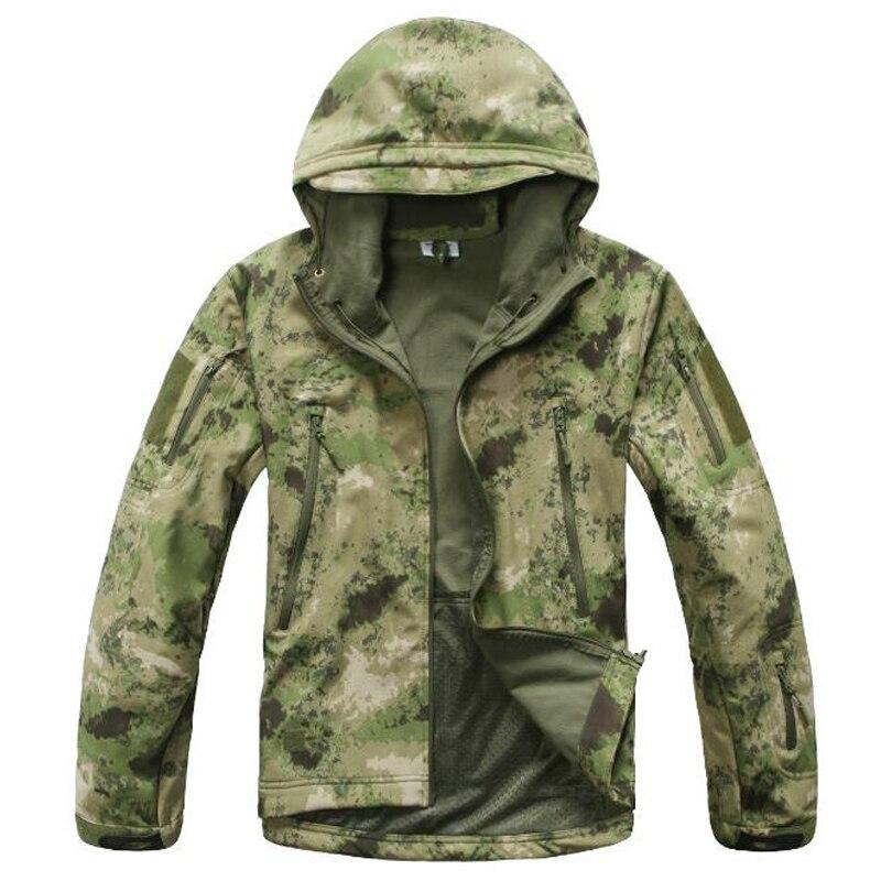 Camping & Hiking Good Tactical Jackets Hunting Gear Waterproof Coat Light Thin Shark Skin Soft Shell Military Clothes Mens Coat Camo Navy Army Jacket