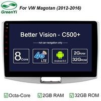 Per Volkswagen VW Passat B6 B7 CC Magotan 2011-2014 Car Multimedia NO DVD Radio GPS Navigation headunit Android 6.0 Deckless