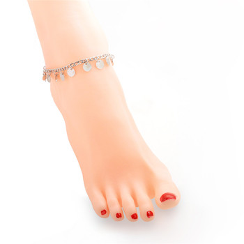 New Bells Round Boho Anklet Foot Chain Ankle Summer Bracelet Charm Anklet Tassel Sandals Barefoot Beach Foot Bridal Jewelry Gift 3