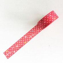 15MM*5M Melody Hello Kitty Twin Star Paper Masking Tape Scrapbooking Decorative Washi Tape Diary Notebook Album DIY Craft(China)