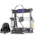 Горячая продажа Tronxy P802E 3d принтер DIY наборы Боуден экструдер MK3 heatbed 3D печать PLA ABS поддерживает автоматическое выравнивание дополнительно 8 Г...