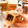 Automatic 1 Piece Saving Moneybox Gifts Toys For Kid Robotic Dog Banco Canino Catoon Puppy Hungry