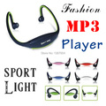 New fashion wireless Neckband memory card can be inserted into the headphone sports MP3 player wireless headsets