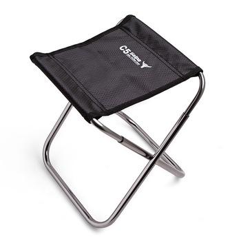 Aeronautyczne aluminiowe podróżne krzesełko składane taboret do wędkowania pociąg Maza pionowe meble ogrodowe przenośne camping beach tanie i dobre opinie Aotu China 24x23x26 23x15x20 Aluminum alloy A fishing chair