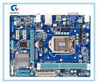 Gigabyte placa-mãe original GA-H61M-S1 H61M-S1 ddr3 para intel lga1155 solid-state integrado