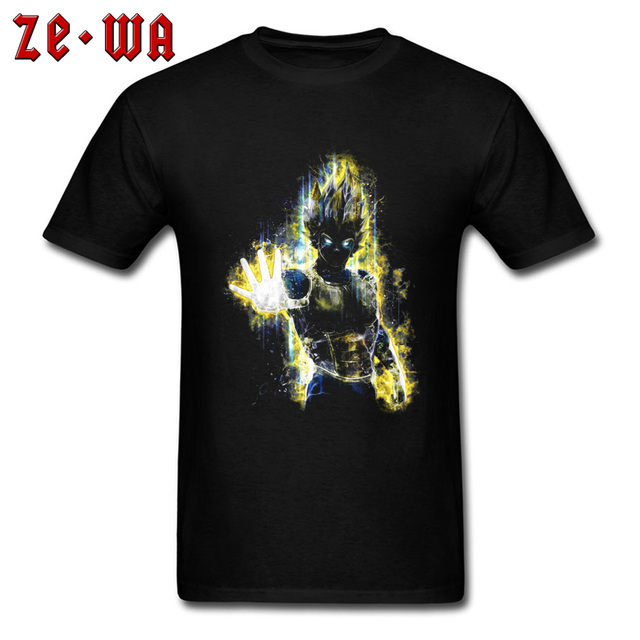 a9b9d5e2a9e33a Starwars Dragon Ball Z The Prince of Saiyans Chic Tshirts Anime Goku Powerful  T Shirt Women Men Girl Regular Short Sleeve Shirts