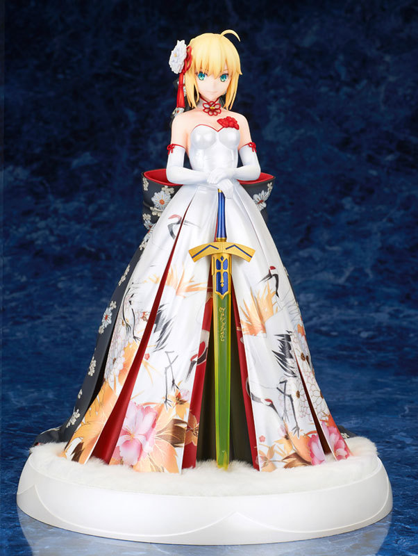 Anime Fate Stay night Fate/Extella Saber Arturia and Altria kimono Suit Ver. with LED Base Statue Figure Model Toys 27cmAnime Fate Stay night Fate/Extella Saber Arturia and Altria kimono Suit Ver. with LED Base Statue Figure Model Toys 27cm
