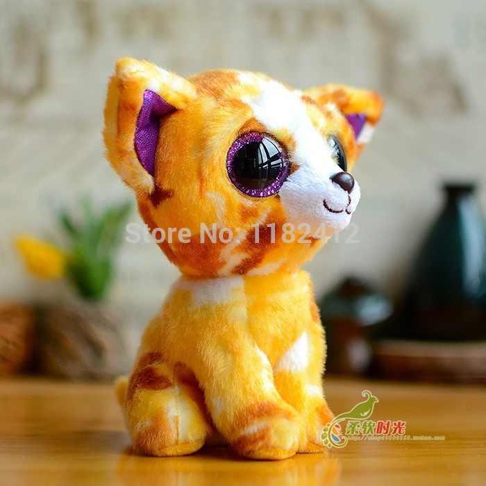 274eafac0b6 ... Ty Beanie Boos Pablo Yellow Chihuahua Dog Toy Stuffed Animal Big Eyes  Plush Animals 15CM 6 ...