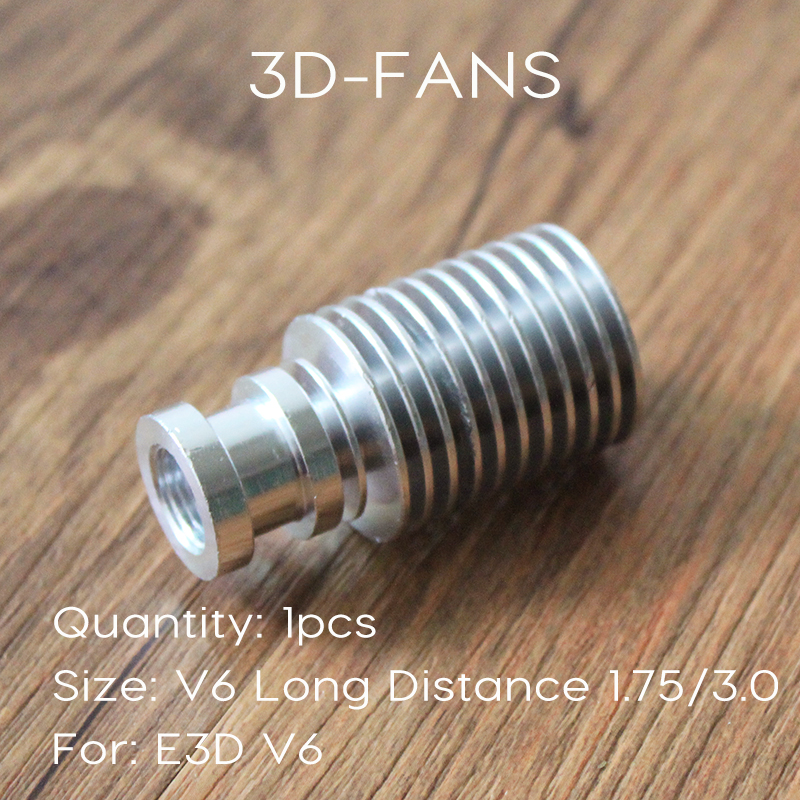 3D V6 Extruder Radiator Remote All-Metal Long / Short distance Heat Sink Pipe For 1.75mm 3mm Feeding For 3D Printer3D V6 Extruder Radiator Remote All-Metal Long / Short distance Heat Sink Pipe For 1.75mm 3mm Feeding For 3D Printer
