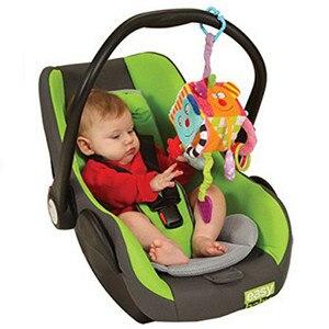 Image 2 - Bébé Mobile bébé jouet en peluche bloc embrayage Cube magique hochets début nouveau né bébé jouets éducatifs 0 24mois