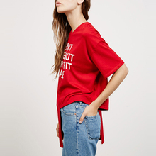 "Women Casual T-shirt ""Life isn't perfect but your outfit can be"""