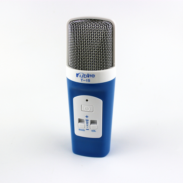 Portable KTV microphone ECHO Stereo Condenser Handheld MIC noise canceling KTV Club for iphone,android phone,PC