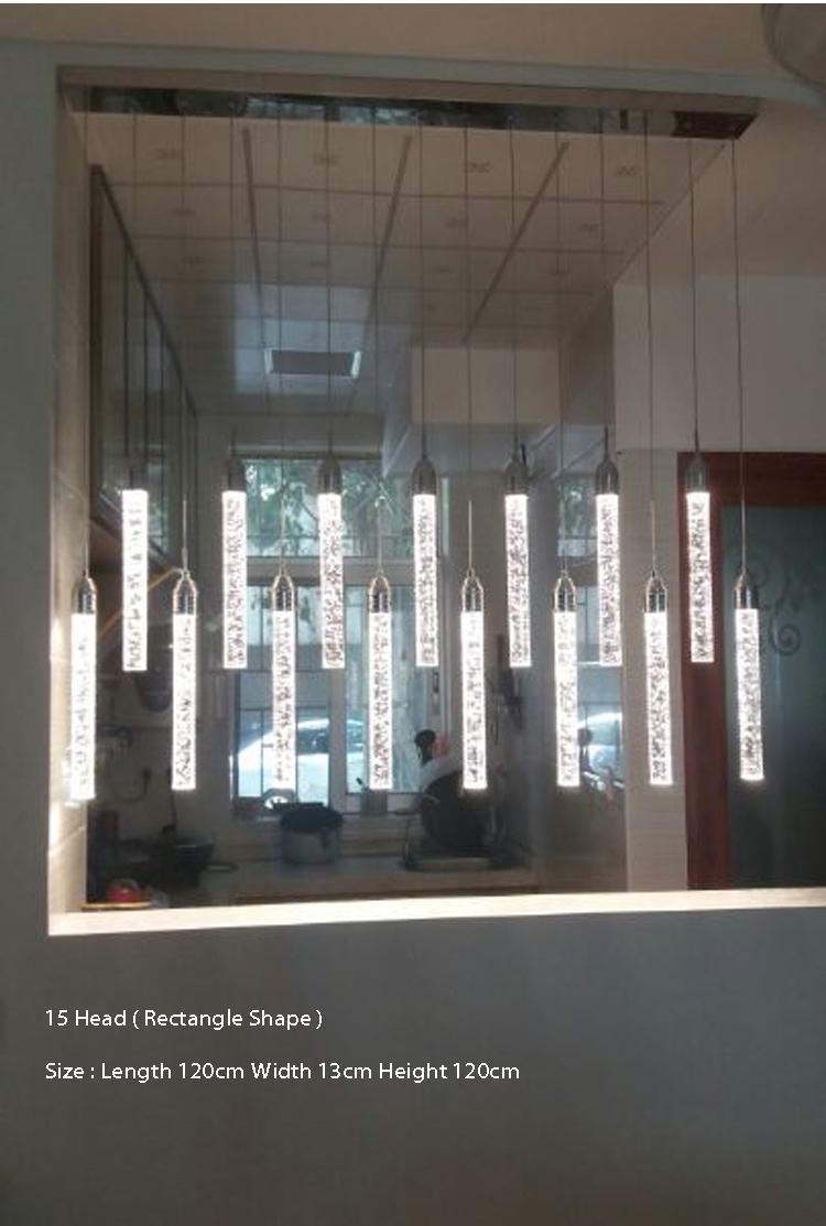 Bubble Crystal Pendant Light