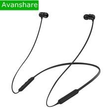Avanshare Flex earphone bluetooth fon kepala tanpa wayar IPX5 Sukan kalis air Bluetooth Earphone untuk telefon iPhone xiaomi Samsung