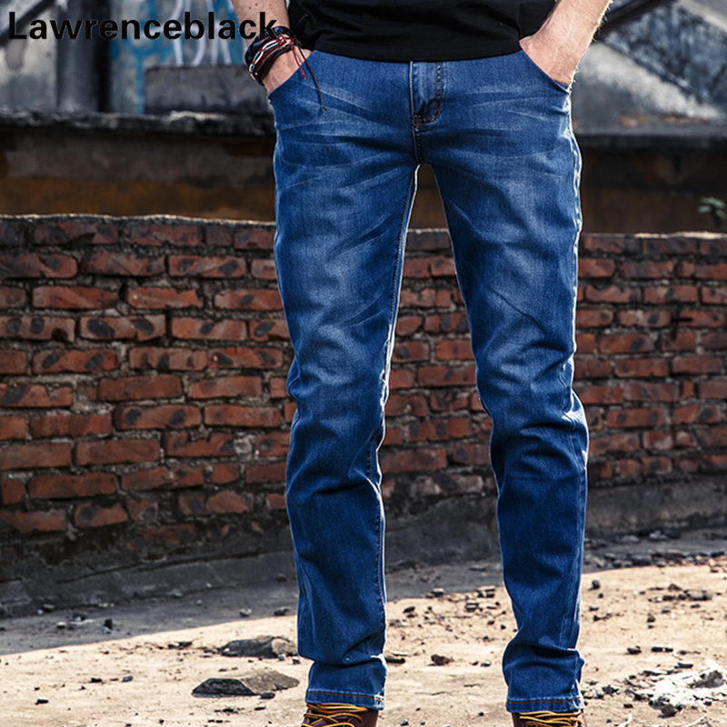 Mens Biker Jeans Denim Denim Casual Jean Punk Cool Style Men's Jean Skinny Homme All-match Blue Color Brand Trousers Male 247
