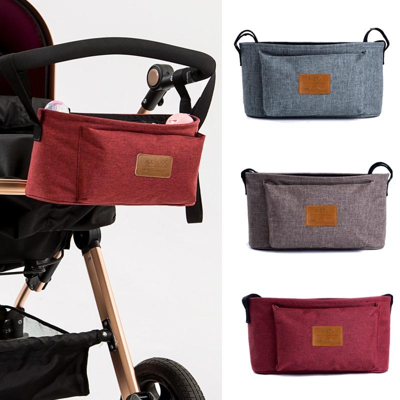 fa496b127fdfa Stroller organiser stroller bag hanging basket baby storage bag stroller  accessories diaper bag backpack linen high