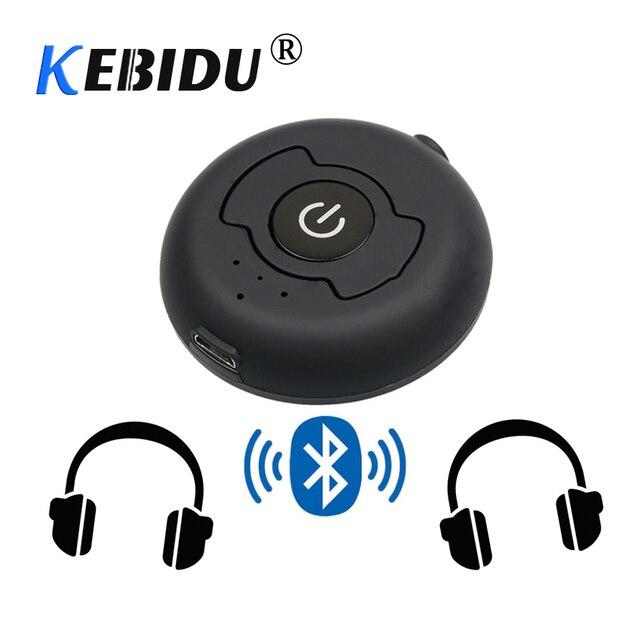 Kebidu H 366T マルチポイントワイヤレスオーディオ Bluetooth トランスミッター音楽ステレオドングルアダプタテレビスマート Pc MP3 Bluetooth4.0 A2DP