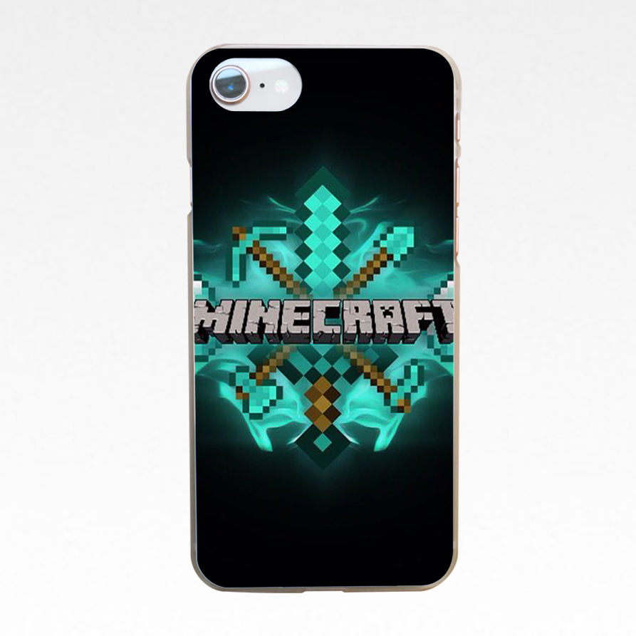 Dropwow 159dd Mojang Minecraft Hard Transparent Cover Case For