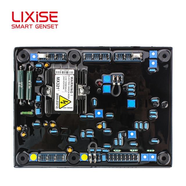 Schema Elettrico : Mx regolatore automatico di tensione del generatore avr schema